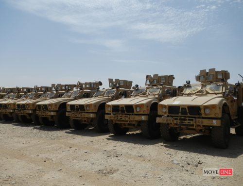 Transportation of Armored Vehicles in Afghanistan