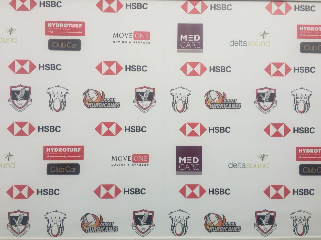 Move One supporting HSBC Rugby Festival Dubai 2018