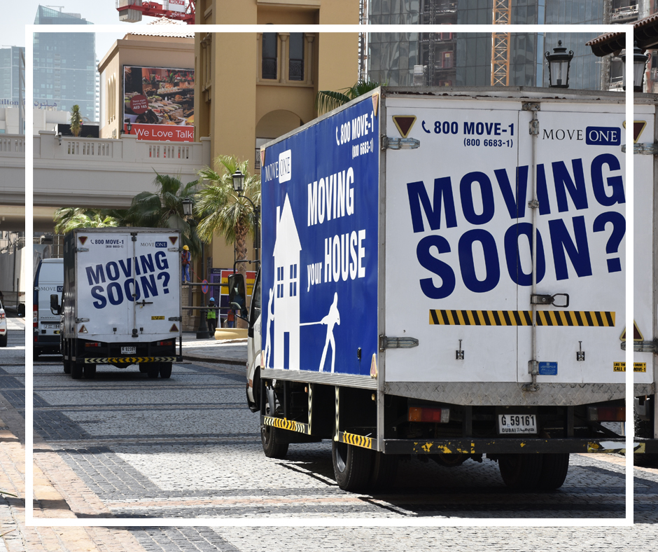 Move One Spotted: Moving Soon? - Move One