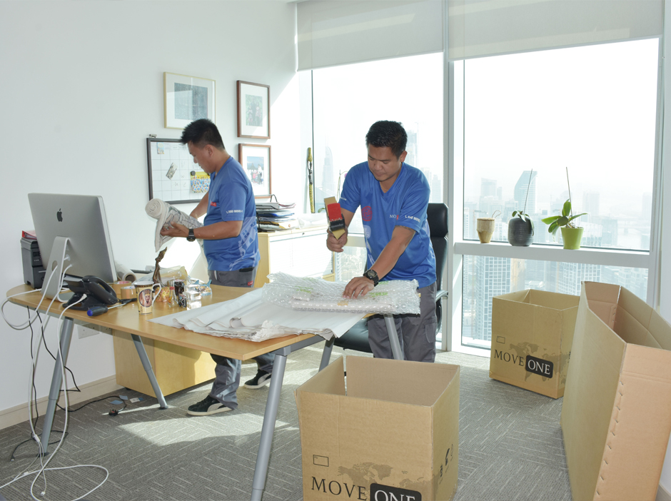 Office Moving with Move One
