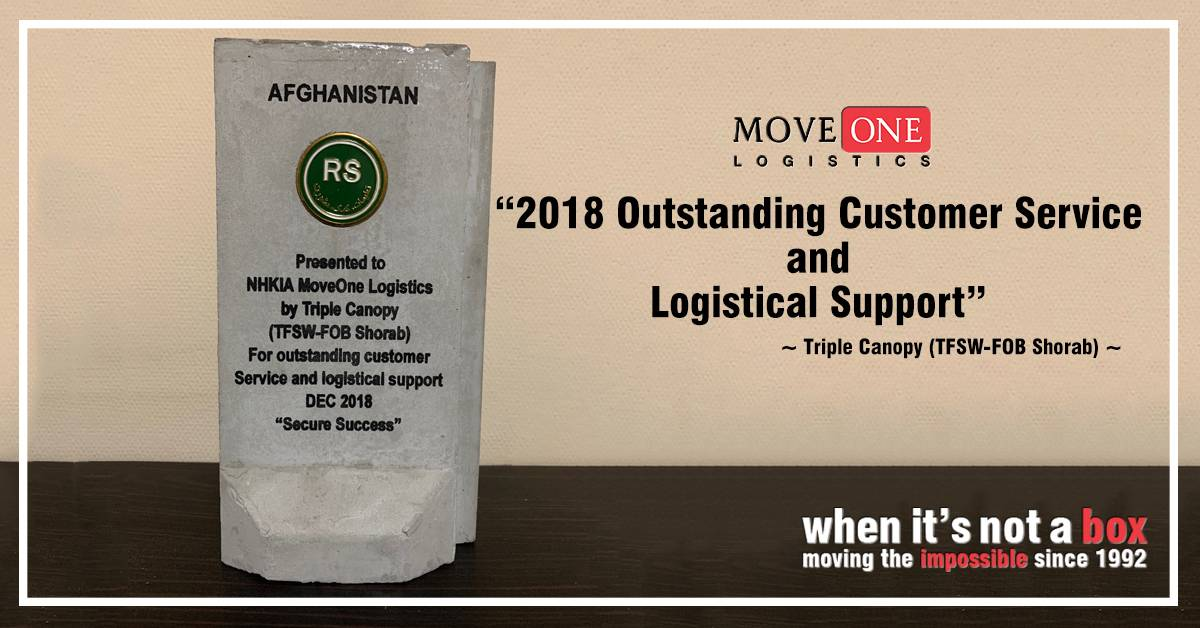 Move One Logistics Afghanistan
