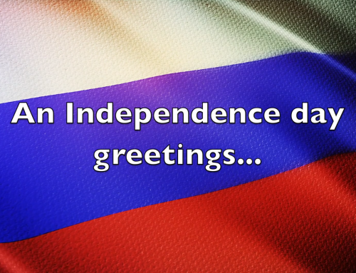 2019 Russian Independence Day Greetings