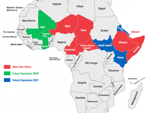 Continued Move One Expansion – West Africa