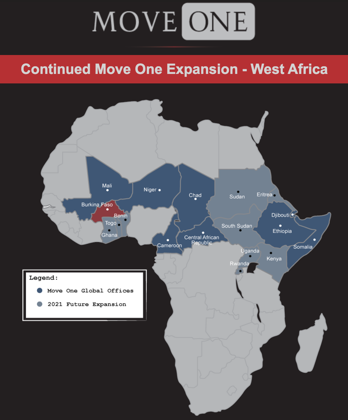 Move One West Africa Burkina Faso