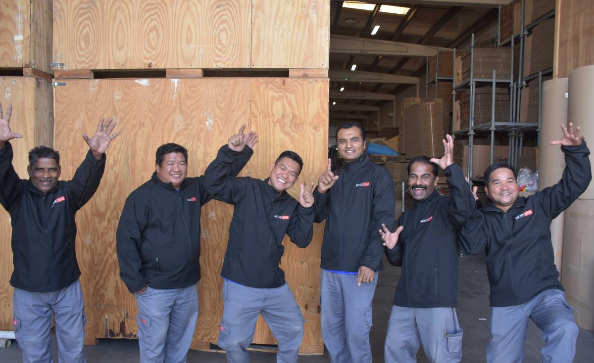Move One Dubai Warehouse Crew