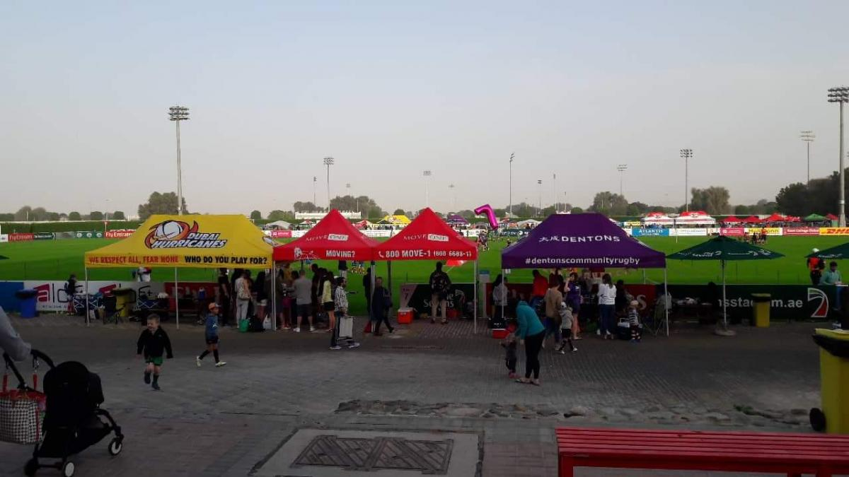 Move One Dubai - HSBC Rugby Fest 2019