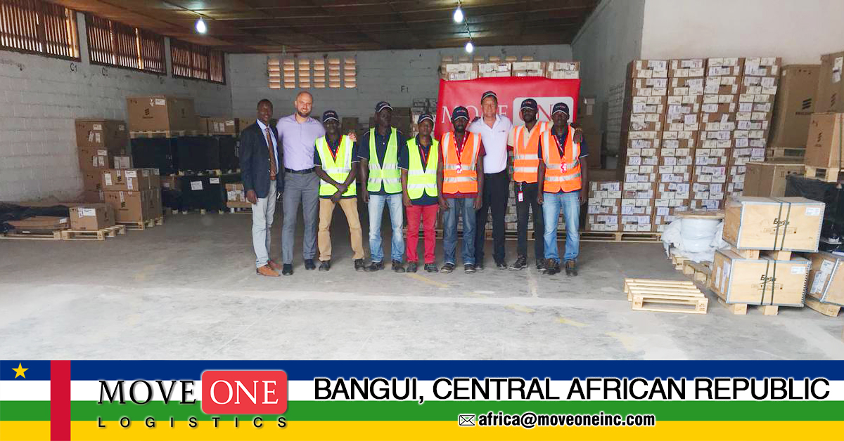 Move One Bangui #49 and Growing