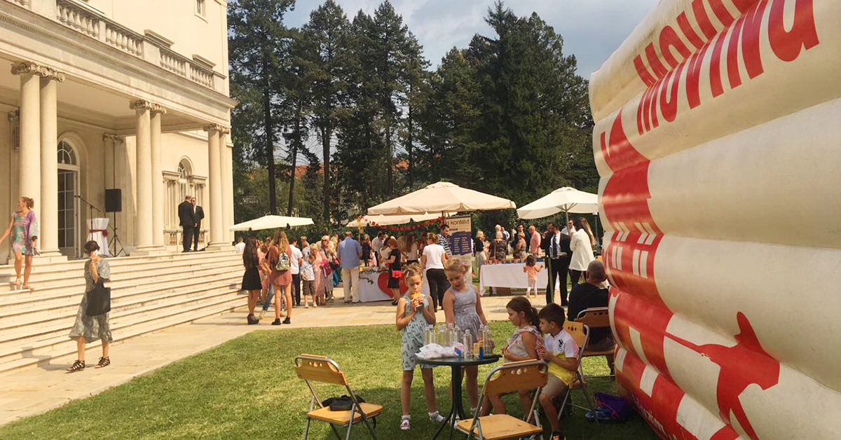 Move One Serbia : 3rd Annual British Serbian Society Charity Garden Party