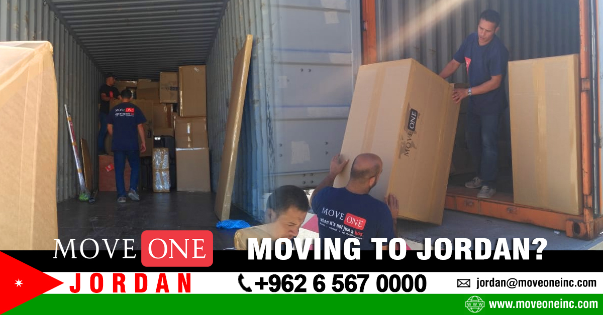 Move One Moving to Jordan